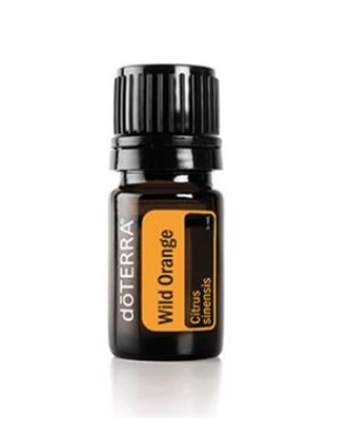 DoTerra ulei esential, portocala salbatica, wild orange/cumcoat/red mandarin, 5 ml, doterra + recipient roll-on + ebook