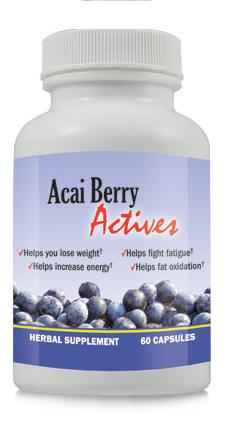 Acai Berry Actives- fructe de Acai