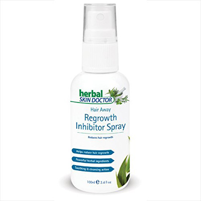 Herbal Skin Doctor hair away regrowth inhibitor spray