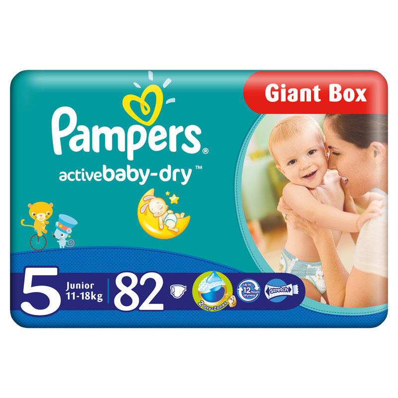 PAMPERS 5 ACT BABY 11-18KG GP (68)